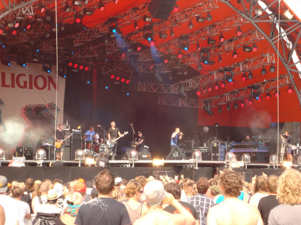 Bad Religion on the Orange Stage