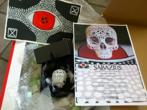 Sabazius - Earache Records - The Descent Of Man - Parcel