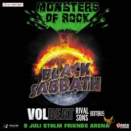 Monsters of Rock – Stockholm 9/7-2016