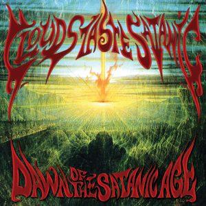 Clouds Taste Satanic - Dawn of the satanic age -cover