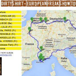 Dirty Shirt European Freak Show